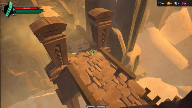 Areas like the Desert Temple are massive and a sight to behold.