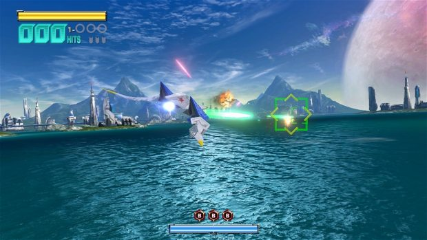 Star Fox Zero's opening level looks nearly identical to Star Fox 64.