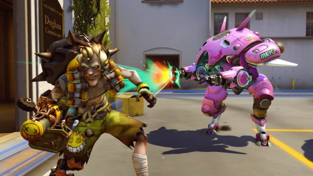 The roster is quite varied, from the explosive Junkrat to Starcraft pro gamer-turned-mech pilot D.Va.