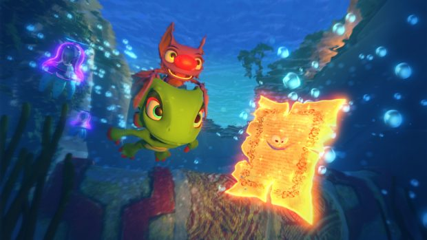 Pagies are Yooka-Laylee's main collectible but are more than just tools to unlock new stages this time around.