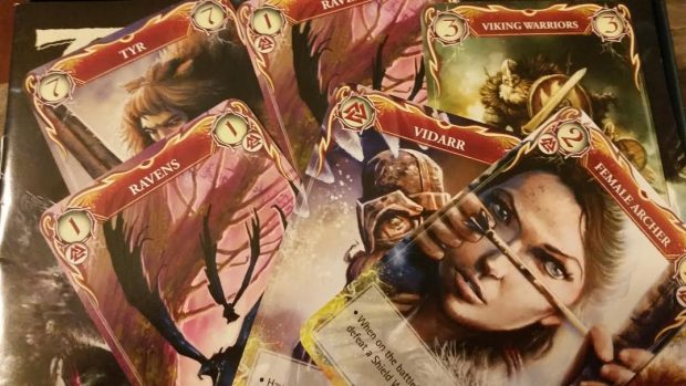 The cards feature fantastic artwork. Thankfully, the game play is just as impressive.