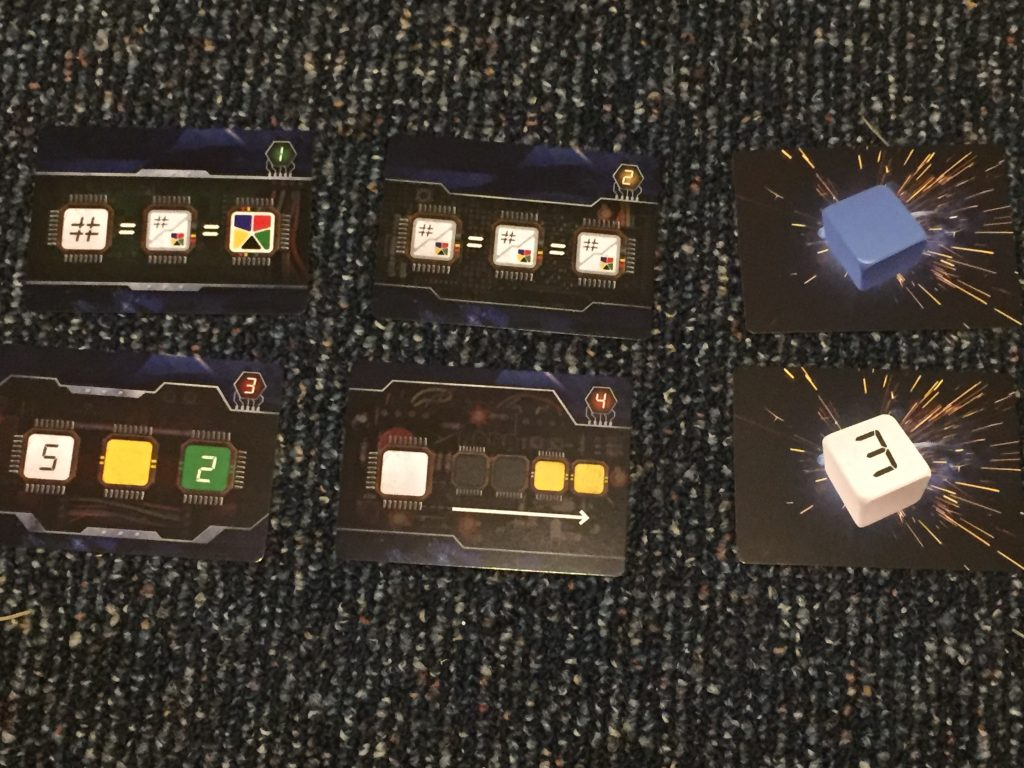 The bomb cards to defuse, along with the fuse cards that can blow up your plans.