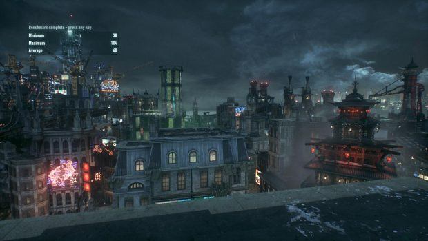 Batman: Arkham Knight at 3000MHz