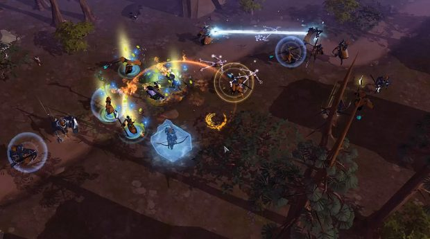 Skills and spells in Albion Online are tied to gear