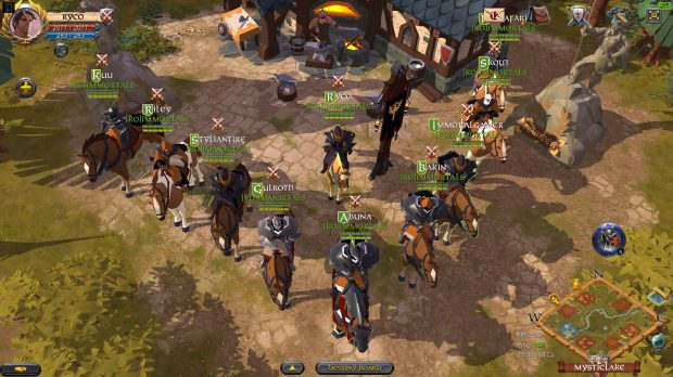 Guilds play a major role in shaping the world of Albion
