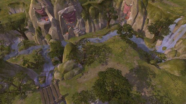 The highlands are the newest biome to the world of Albion Online