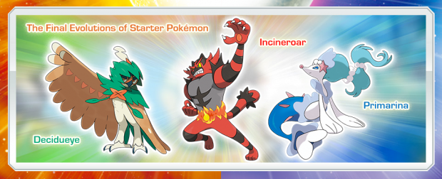 Starter final forms officially revealed
