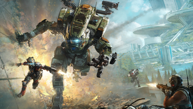 Titanfall 2 Single Player Trailer Features Lots Of Wall