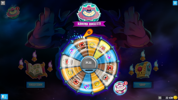 Krosmaga has quests, evolving cards and even a daily roulette
