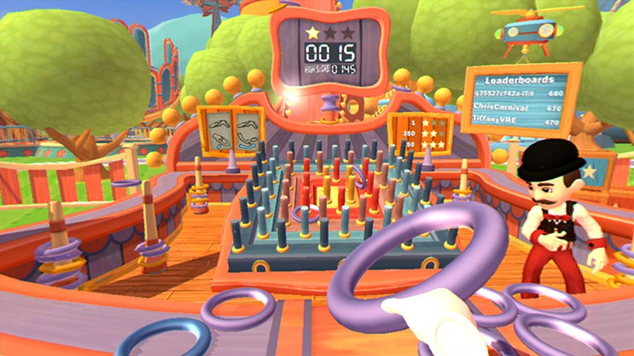 step right up carnival games vr review gaming trend