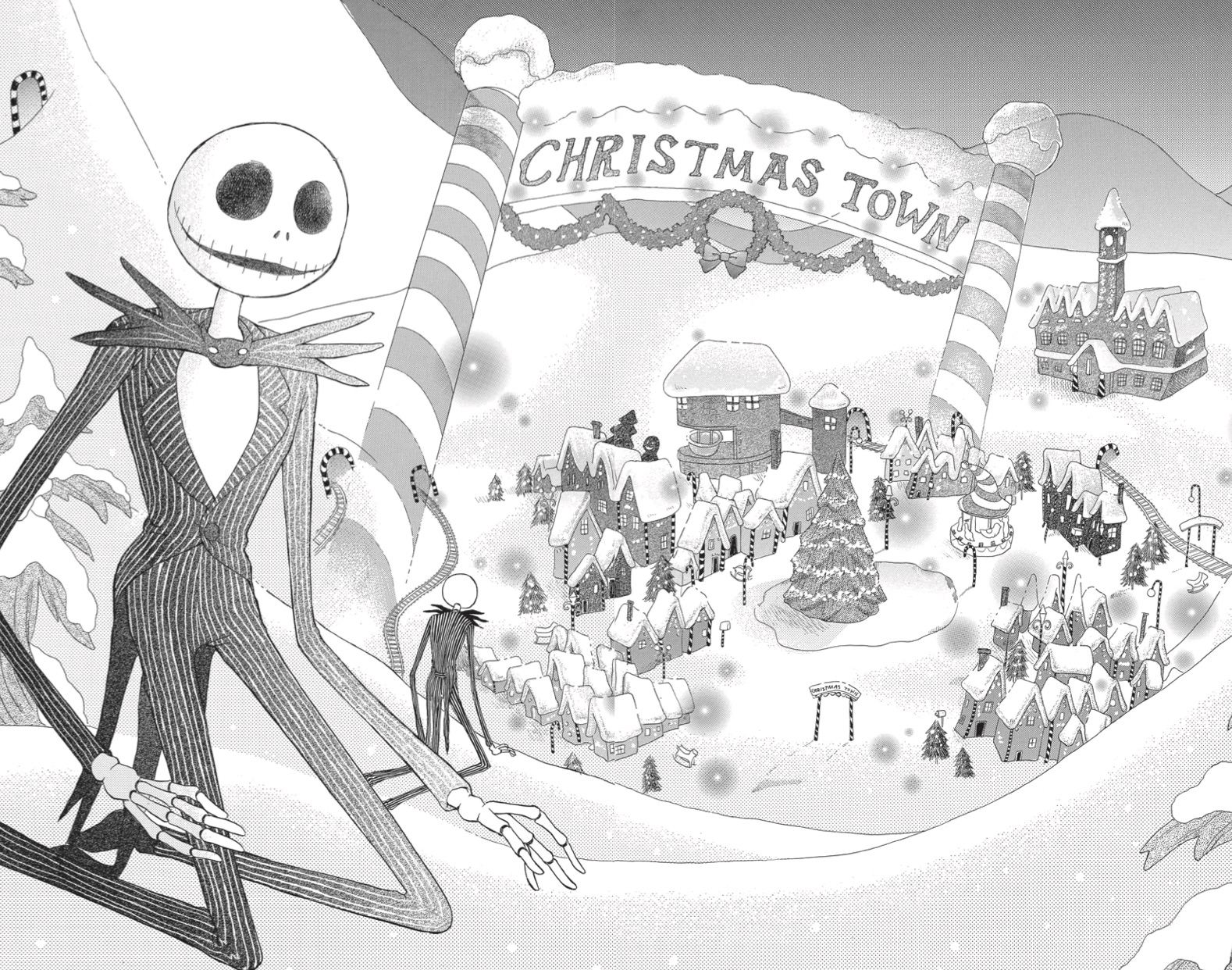 What\'s this? The Nightmare Before Christmas manga impressions ...