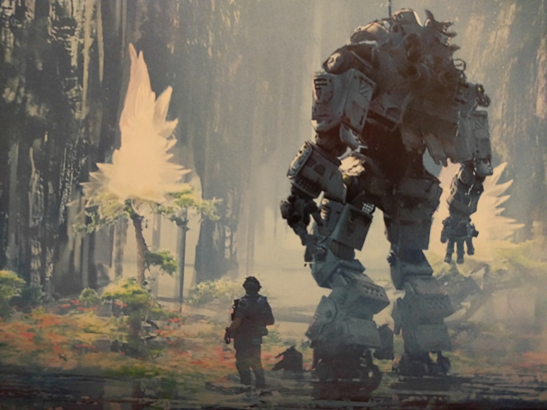 Bt Stands For Best Titan The Art Of Titanfall 2 Review