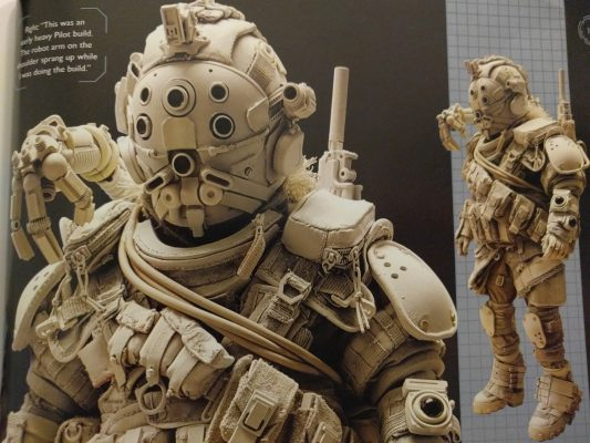 These maquettes are amazing.