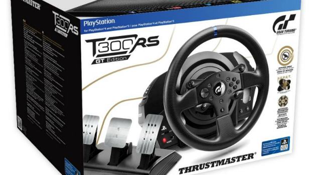 thrustmaster unveils the t300rs gt edition racing wheel gaming trend. Black Bedroom Furniture Sets. Home Design Ideas