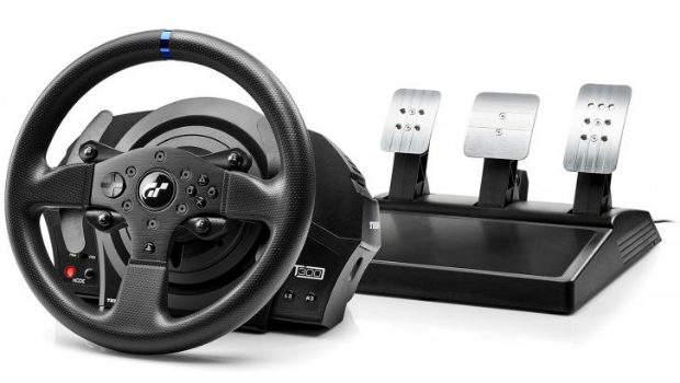 thrustmaster unveils the t300rs gt edition racing wheel. Black Bedroom Furniture Sets. Home Design Ideas