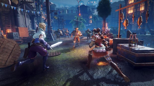 Estrella is a new addition to Hand of Fate 2's companions roster.