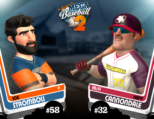 Super Mega Baseball 2 - Character Art