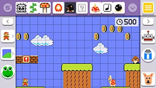 The level editor offers a lot of customization options while still being easy to use.