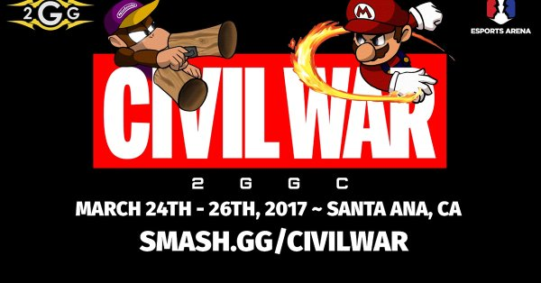 2GGC: Civil War – March 24th–26th, 2017 ~ Santa Ana, CA – SMASH.GG/CIVILWAR
