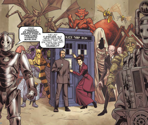 Many different Doctor Who villains