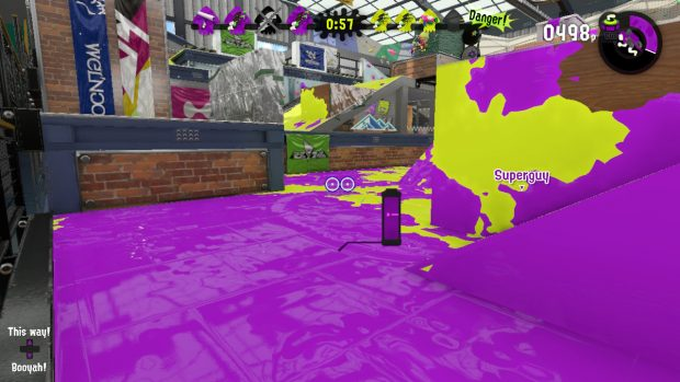 The ink tank now has a visual indicator of how much ink you need to use your sub-weapon.