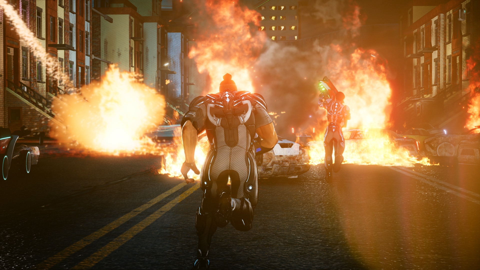 Crackdown-3_Screenshot_Cars-On-Fire