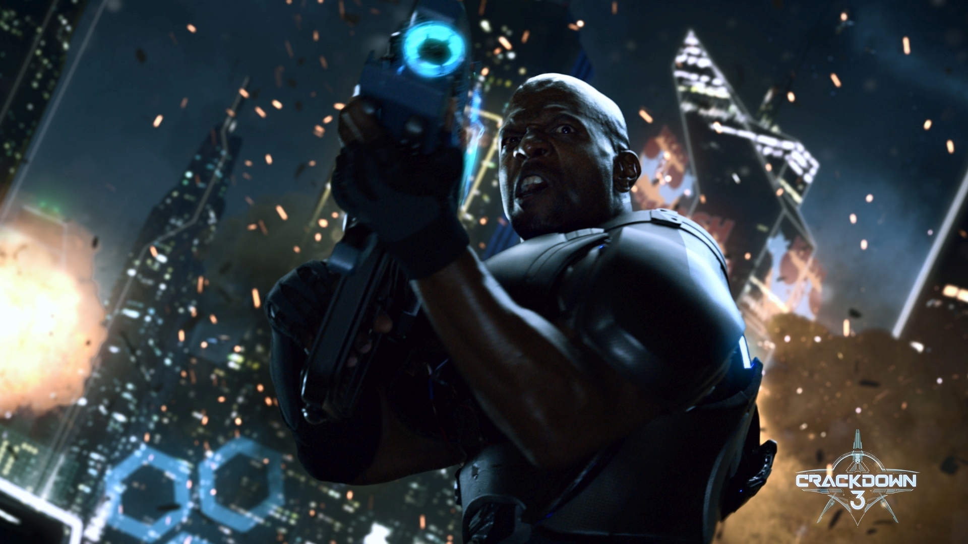 Crackdown 3 Commander Jaxon Fire