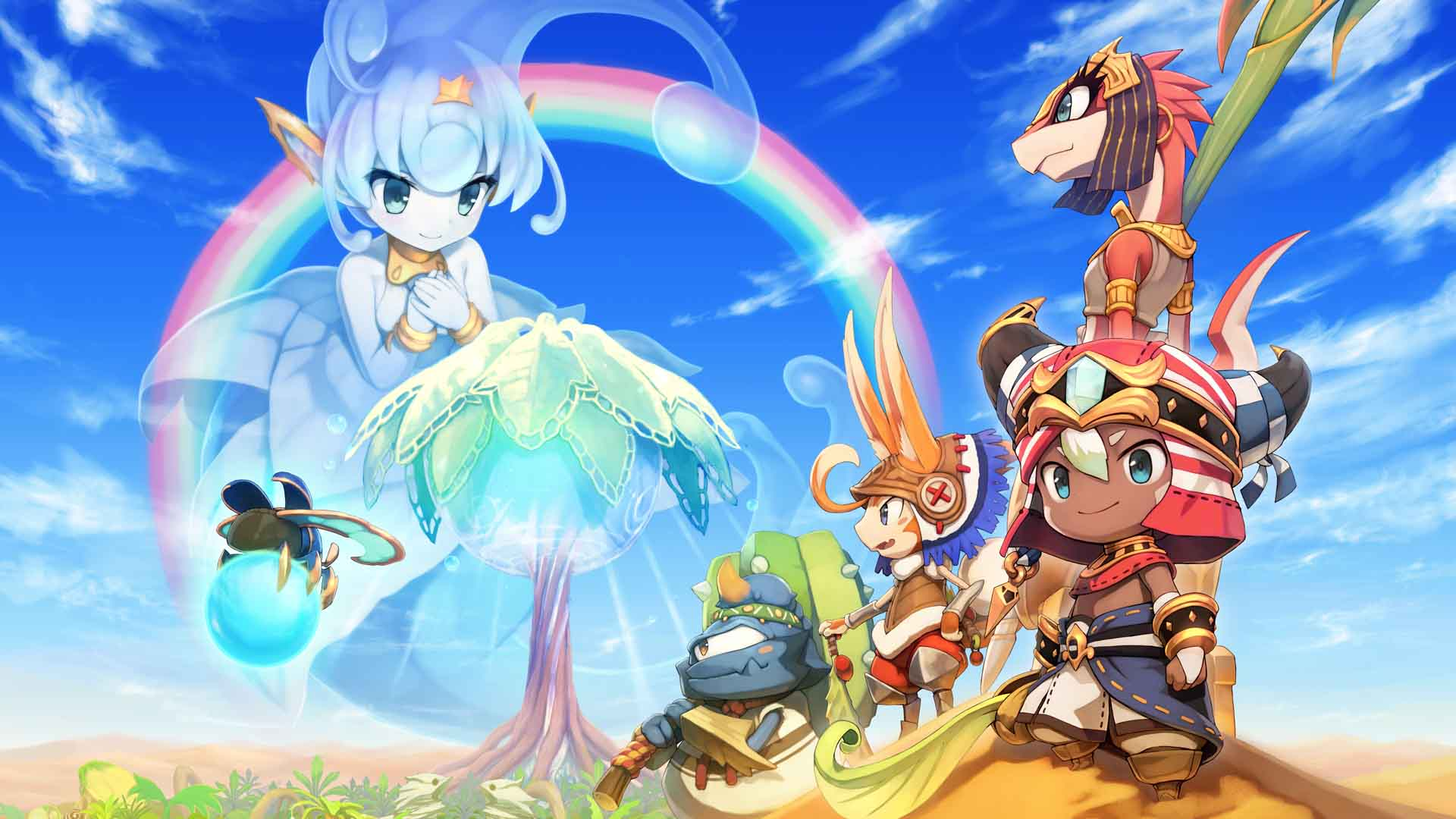Ever Oasis - Best 3DS Game of E3 2017 - Nominee