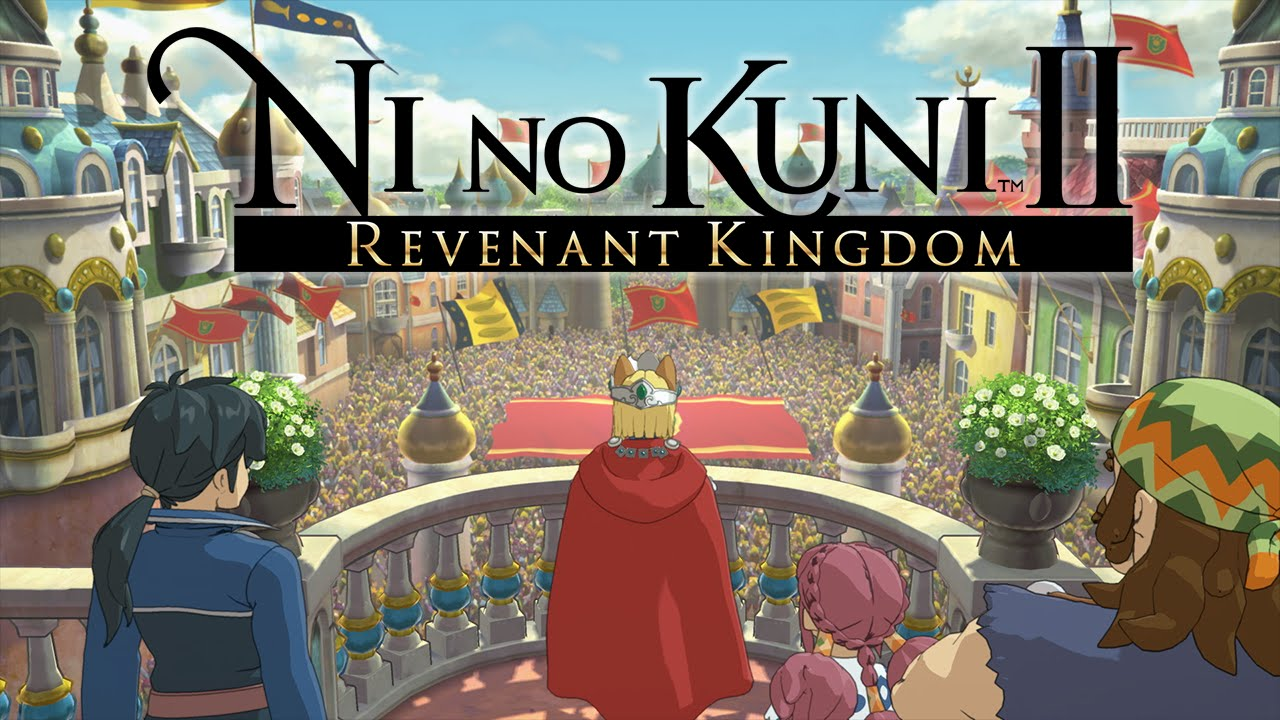 Ni No Kuni II Revenant Kingdom - Best RPG of E3 2017 - WINNER!