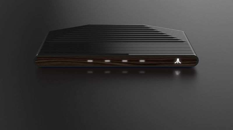 ataribox wood leds