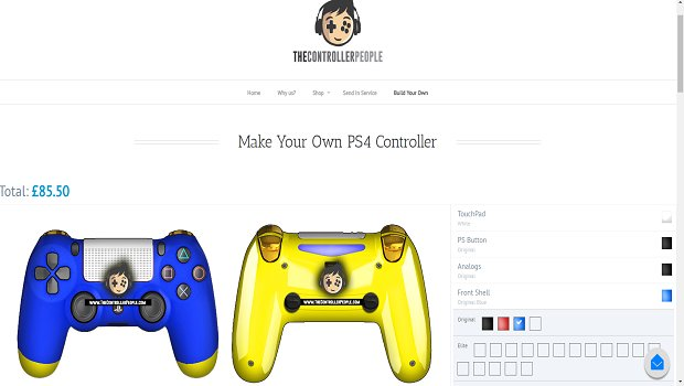 controller ps4 with text