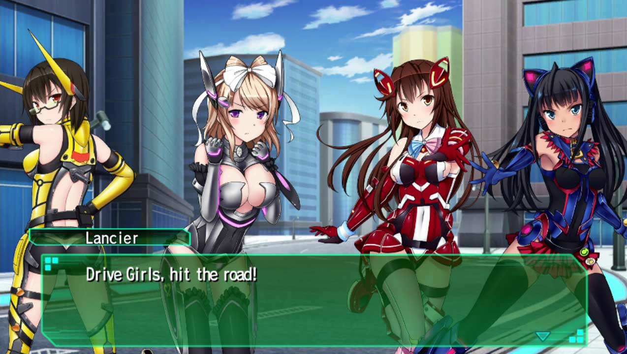 Drive Girls Has A Story And That Story Is One Where Events Are Occurring But Heaven Take Me If I Am Able To Actually Enlighten You Into Its Finer Details