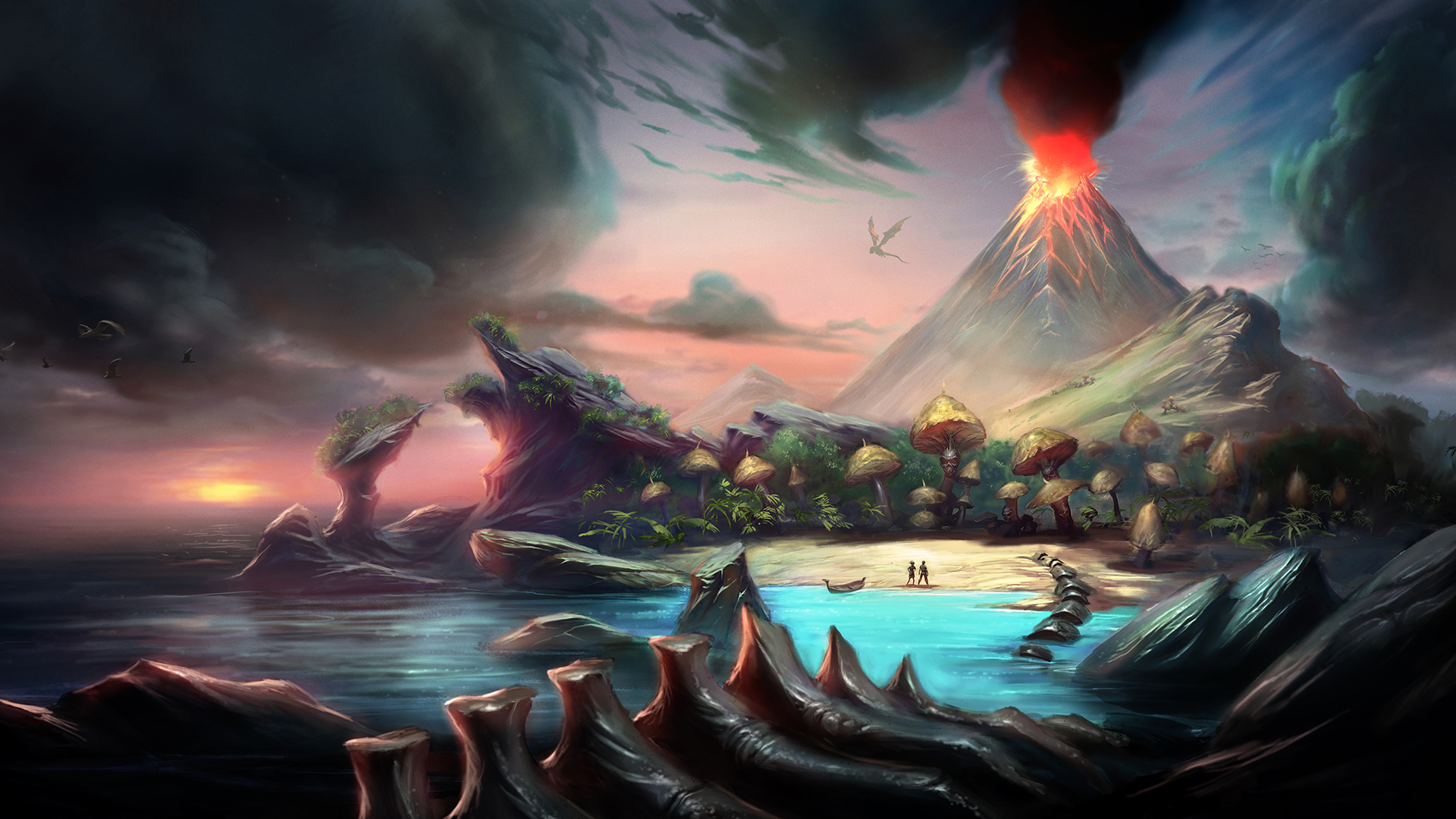 Old School Runescape Gets An Update With The Prehistoric