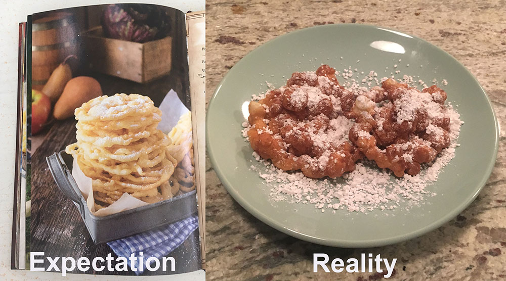 how to make your own funnel cake