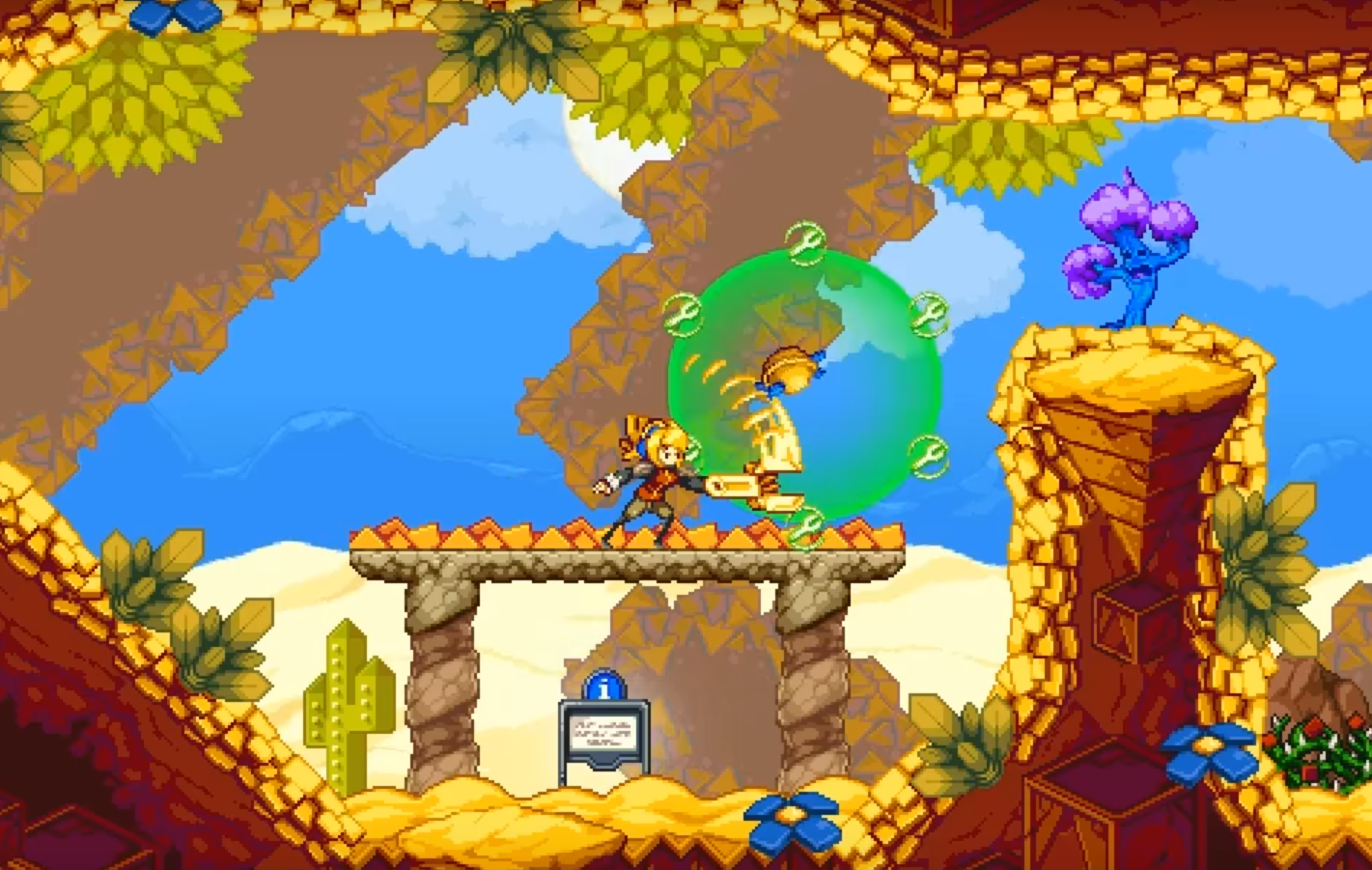 Iconoclasts An Indie Action Adventure Game Inspired By