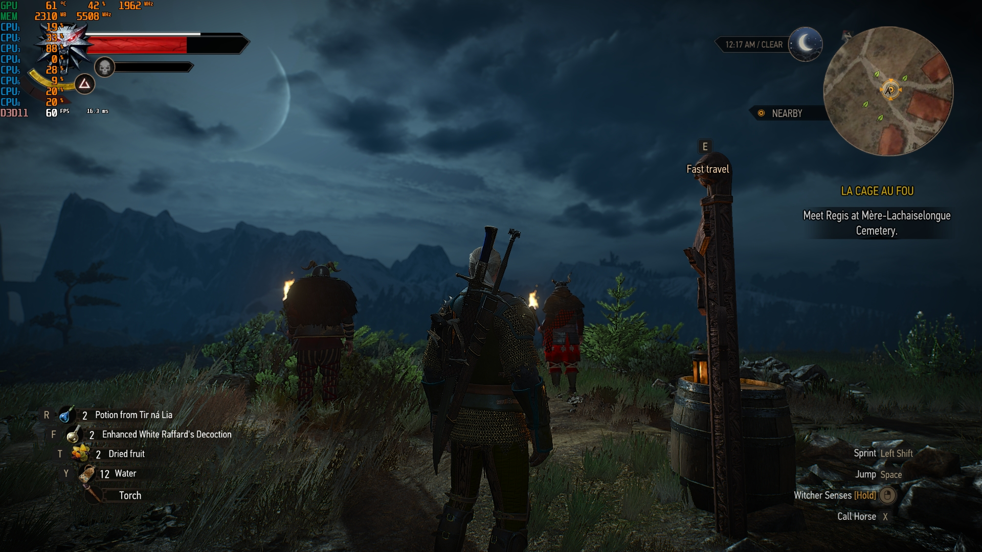 Witcher 3- 1080p - 1080ti