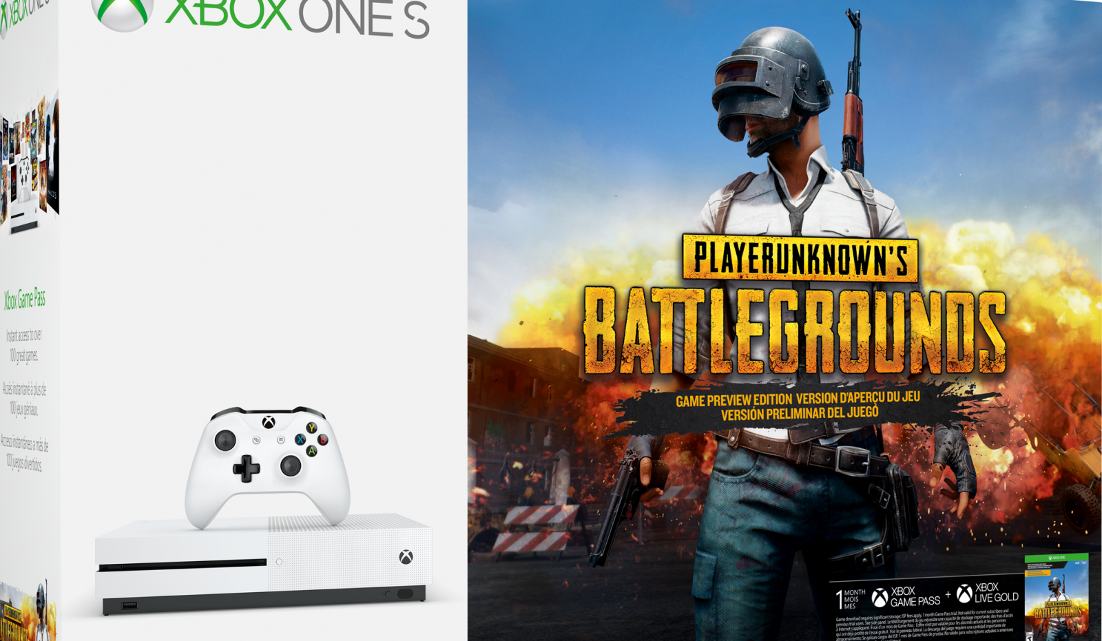 Gear Up For The Battle Royale With A New Xbox One S Pubg Bundle
