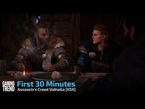 Assassin's Creed Valhalla First 30 Minutes - XSX [Gaming Trend]