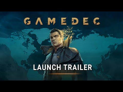 Gamedec - Launch Trailer