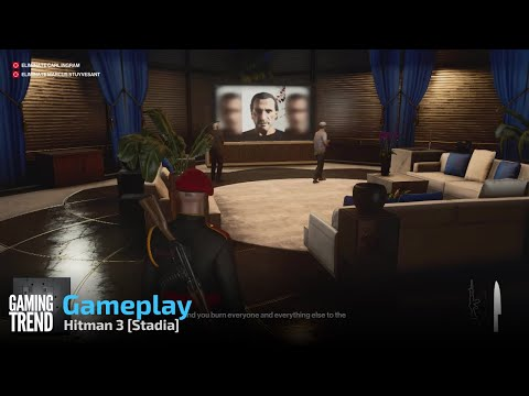 Hitman 3 Gameplay - Stadia [Gaming Trend]