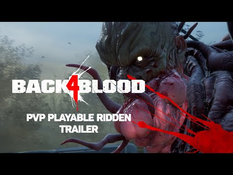 Back 4 Blood – PvP Playable Ridden Trailer