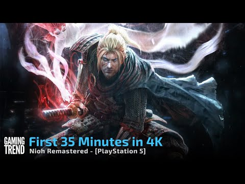 The Nioh Collection - Nioh Remastered - First 35 Mins in 4K - PS5 [Gaming Trend]