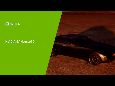 GANverse3D: Knight Rider KITT Re-created with AI by NVIDIA
