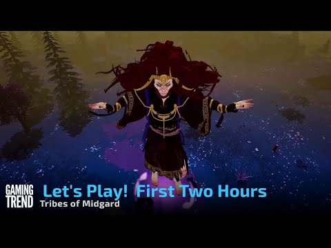 Let's Play Tribes of Midgard - First Two Hours on PC [Gaming Trend]