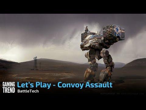 BattleTech - (Spoiler Free) - Convoy Ambush [Gaming Trend]