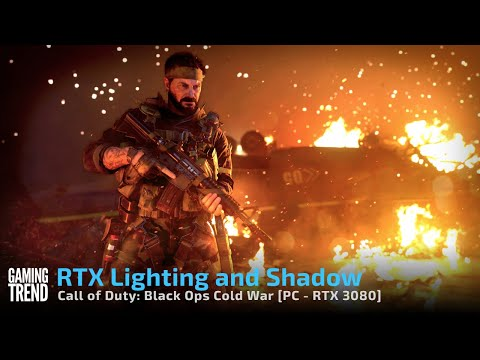 Call of Duty Modern Warfare Cold War - RTX On Annotated Gameplay - PC [Gaming Trend]