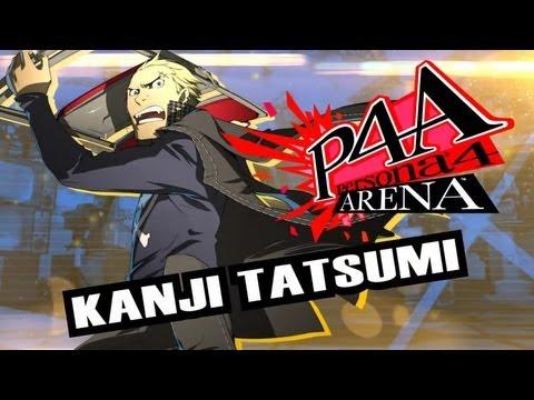 Persona 4 Arena Moves Video: Kanji Tatsumi