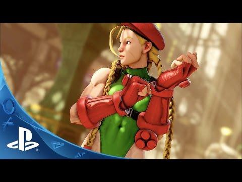 Street Fighter V - E3 2015 Trailer   PS4