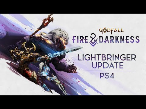 Godfall: Spring Showcase E3 trailer – PS5 PS4 PC   Fire & Darkness   Lightbringer Update