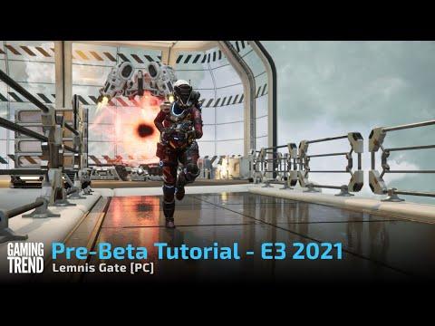Lemnis Gate Alpha Hands on Tutorial - E3 2021 [PC]